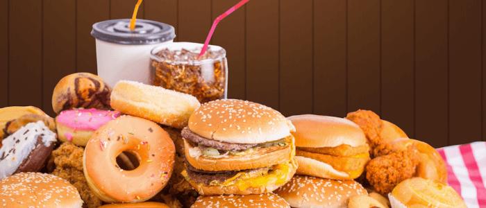 Fatburner Diät unerlaubte Lebensmittel